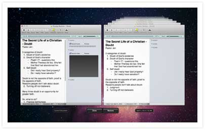 Pear Note for Mac - Useful Fruit Software